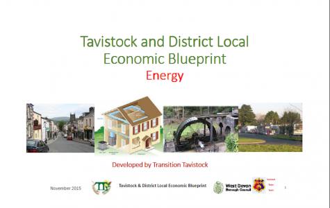 Tavistock & District Local Economic Blueprint - Energy - Report Cover