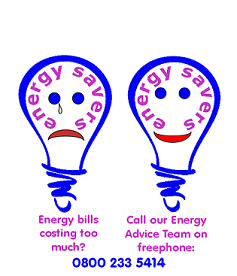 Call our Energy Advice Service – 0800 233 5414